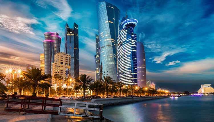 ارسال بار به قطر