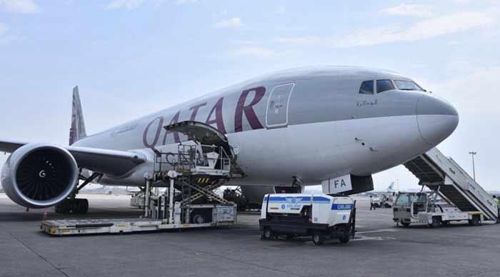 ارسال خرده بار به قطر