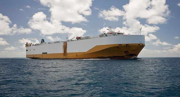 حمل دریایی بار به قطر