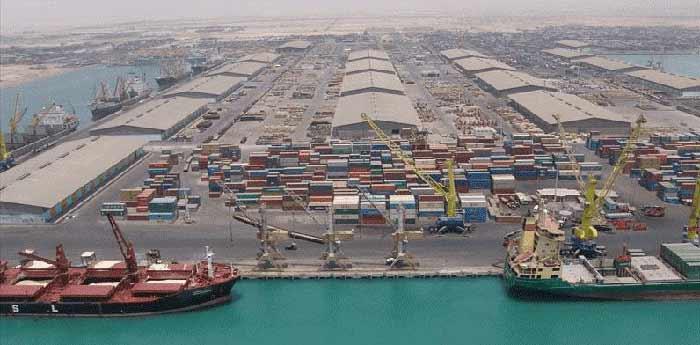 ارسال بار دریایی از چین به ایران